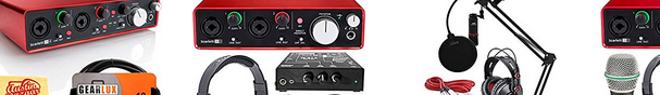 podcasting audio interface